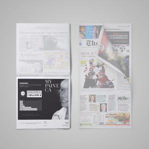 Publicité – LaPresse & The Gazette